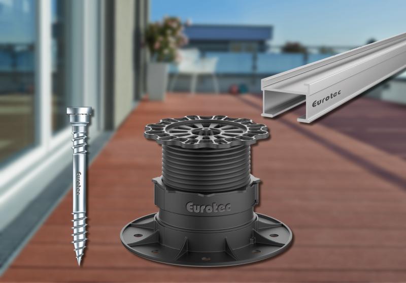 Eurotec Terrassen Click-Adapter 60